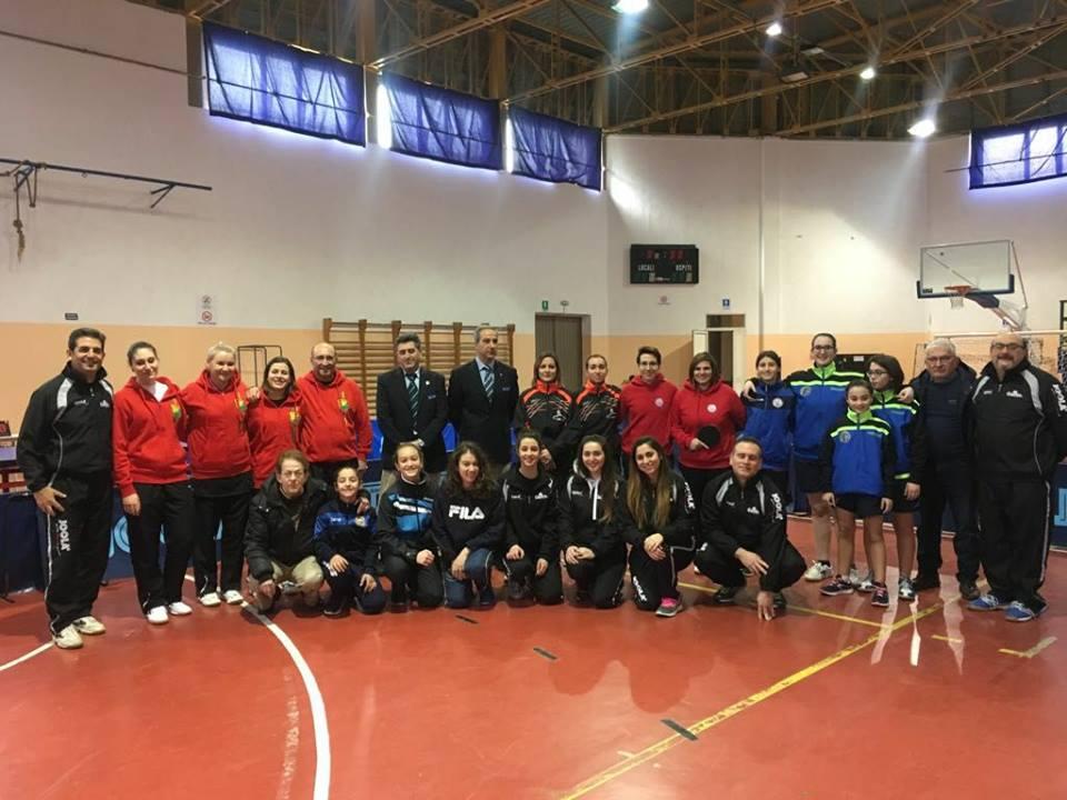 Serie B femminile IV concentramento 2017 18